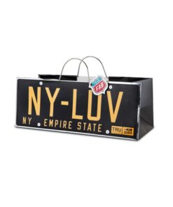 BoxinBag Pursebag New york License plate-