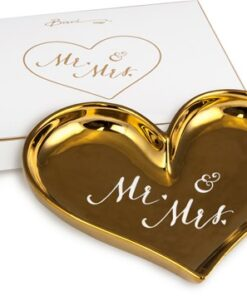 BoxinBag Shine Heart Plate MR & MRS-