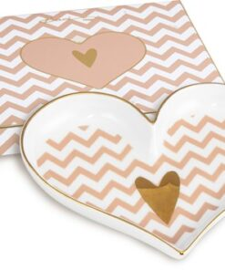 BoxinBag Shine Heart Plate SMALL HEART-