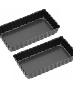 Kitchen Craft Pajform Mini 2-pack Non Stick 11x6 cm-Bakning - Bakformar - Pajformar