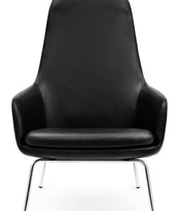 Normann Copenhagen Era Lounge Chair High - Krom-Sittmöbler