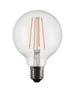 PR Home Vintage LED Filament Globe 125mm