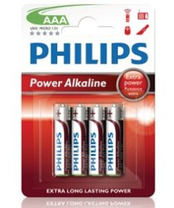 Philips Power Alkaline AAA 4-pack-Hem & Hushåll - Hemelektronik - Batterier