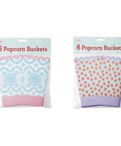 Rice Osorterade 6-pack Party Popcorn Hink Prickar/Spets-