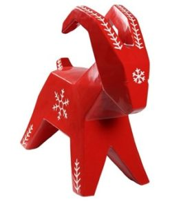 Cult Design Snöflinga storbock red/white-Inredning - Dekoration - Juldekorationer