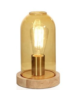 Globen Lighting Bordslampa Newton Amber-Inredning - Belysning - Bordslampor