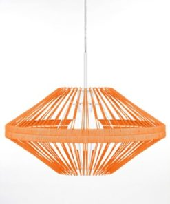 Globen Lighting Pendel Rubber Orange-Barn - Inredning - Belysning